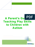 Teaching Play Skills