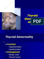Thyroid Disorders in Elderly
