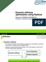 Dynamic stiffness optimization using Radioss.pdf