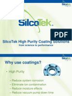SilcoTek Coatings for High Purity Applications