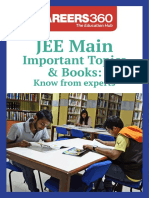 JEE Main Important Topics & Books- Know From Experts