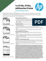 HP PageWide Pro 477-577 Printer Series