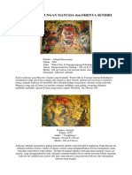 7 Lukisan Beserta Gaya Lukisan Dan Tema Lukisan