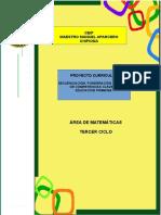4.- Proyecto Curricular Matematicas 3º Ciclo Ceipmmaparcero