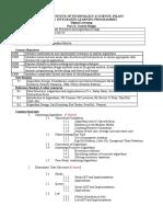 CourseHandOut_Data Structures and Algorithms Design