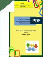 5.- Proyecto Curricular Ingles 1º Ciclo Ceipmmaparcero