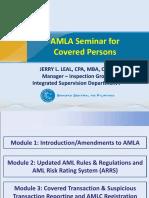 AMLA Seminar