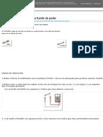 medicion elementos de la fuente de poder | MEDICIÓN ELEMENTOS DE LA FUENTE DE PODER