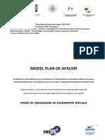 MODEL Plan de Afaceri_organizare Evenimente