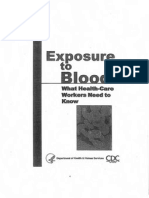 Exposure to Blood