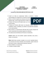 Normativa Para Edecanes de Protocolo UNY N-3!28!001-00