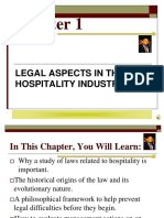 Chapter 1. Hospitality Law