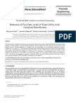 Reduction of Free Fatty Acids of Waste Oil by Acid Catalyzed Esterification