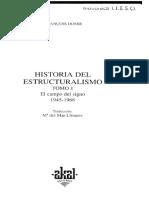 Dosse - Historia del estructuralismo. Vol. I - El campo del Signo, 1945-1966.pdf