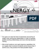 API Oil Supply Chain