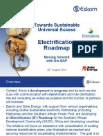 EAP Electrification Roadmap_AFSEC 28 August 2012 Johannesburg