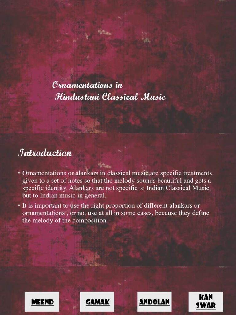 ornamentations in music | classical and art music traditions