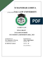 Family Law Proj