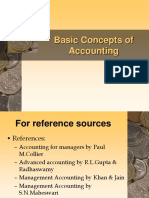 Basics of Accounting Class One