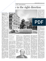 Financial Times - A Small Step In The Right Direction