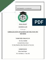 Banking Law Final Draft