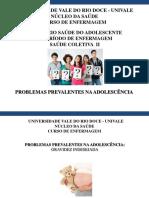 Seminário Saúde Do Adolescente - Saúde Coletiva II