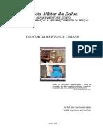 Apostila Gerenciamento de Crises - BA