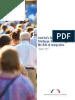 BPC Immigration Americas Demographic Challenge