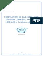Compilacion LEGISLACION AMBIENTAL NICARAGUA