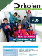 2017-2018 kultura eta kirol udal jarduerak