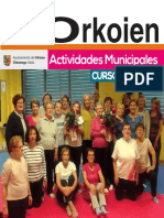 Actividades culturales y deportivas municipales 2017-2018