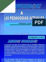 PEDAGOGIAS ACTUALES