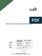 APTr 1.2 Manual de Inmunohematología en HRR V4.0 2015