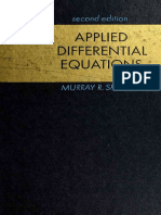 Murray R. Spiegel - Applied Differential Equations - Prentice-Hall, Inc. (1967)