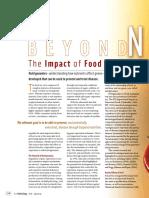 1 Hirsch. the Impact of Food on Genes. Food Tecnologic. 2005