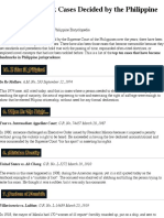 Top 10 Landmark Cases Decided by the Philippine Supreme Court - Wikipilipinas