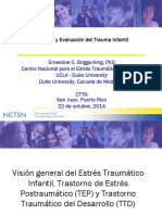 Developmental Trauma Disorder and Child Trauma Measurement Evaluation Spanish