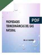 Presentacion 5. Propiedades Termodinámicas Del Gas Natural