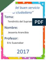 Anatomía Del Supraespinoso