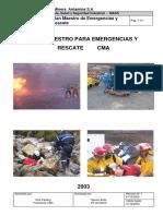 Plan Maestro de Emergencias y Rescate