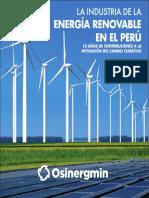 Osinergmin Energia Renovable Peru 10anios