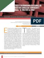 Revista TRAMA - Artículo Martín Gamboa