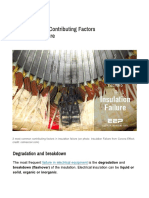 2 Most Common Contributing Factors in Insulation Failure