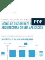 2.3.Modulos Disponibles y Arquitectura de Una Aplicacion