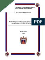 Analise Historica Do Desenvolvimento Da Guerra Irregular No Pais e Combate a Resistencia