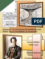 IUNA - UNSJ - Seminario Semiótica - Gustav Mahler - Sinf.3