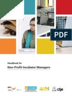 Handbook for Non Profit Incubators_July 2017