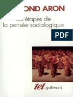 1les Etapes de La Pensee Sociologique Montesquieu Comte Marx Tocqueville Durkheim Pareto Weber