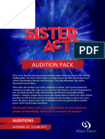 Sister Act Audition Pack