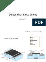 Disposivos Electrónicos MOSFET V10a